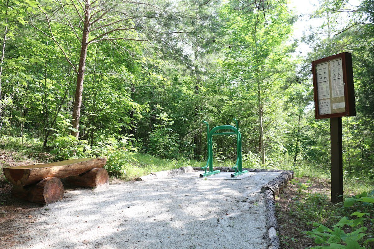outdoor exercise station 3