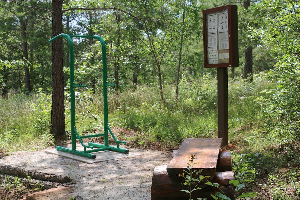 outdoor exercise station 2