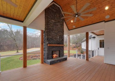 243 Edgewater Trail S Toccoa-Currahee Home Builders-Outdoor Fireplace-